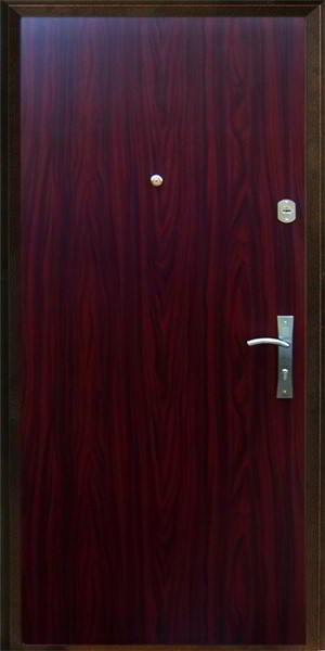 ламинированные входные двери металлические