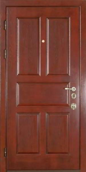 металлические входные двери с отделкой