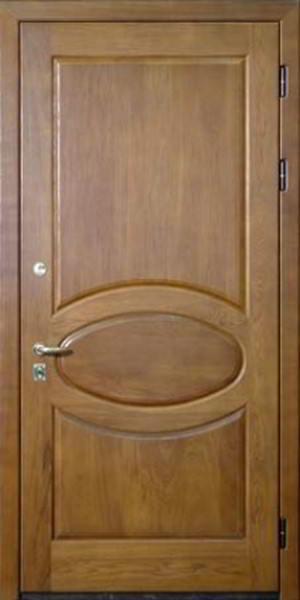 входная дверь отделка массив дуба