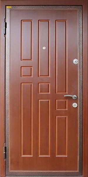 панельные железные двери