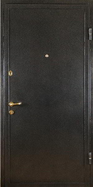 покрытие металлических дверей напыление